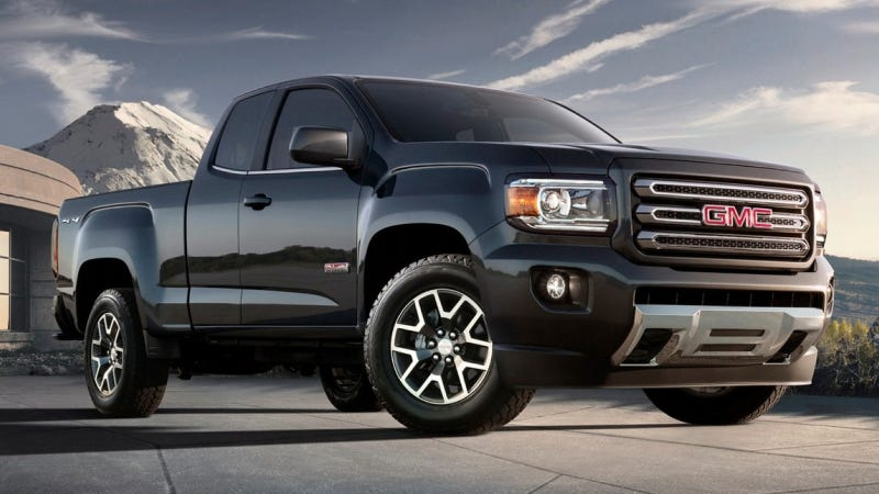 Illustration for article titled 2015 Chevy Colorado & GMC Canyon Will Be More Powerful Than We Thought