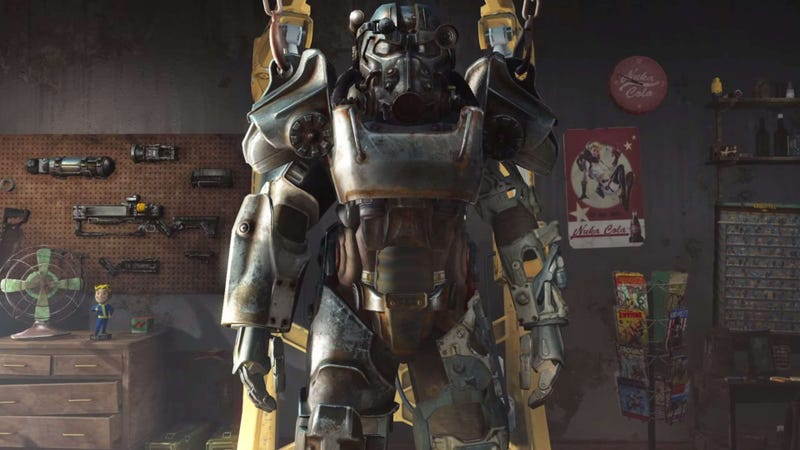 Illustration for article titled Se filtra un vídeo del gameplay de Fallout 4, en una página porno