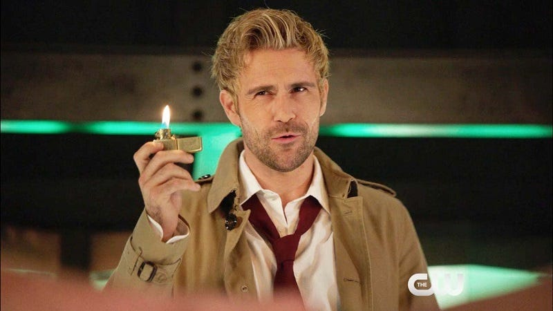 Illustration for article titled This Arrow Episode Is Filled with Magic, and John Constantine Is Just One Part of It