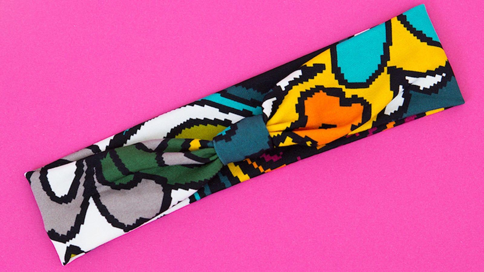Transform Scrap Fabric Into A Stretchy, Diy Workout Headband-6807