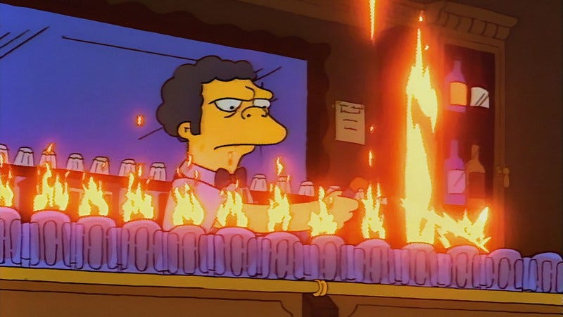 Screenshot: The Simpsons