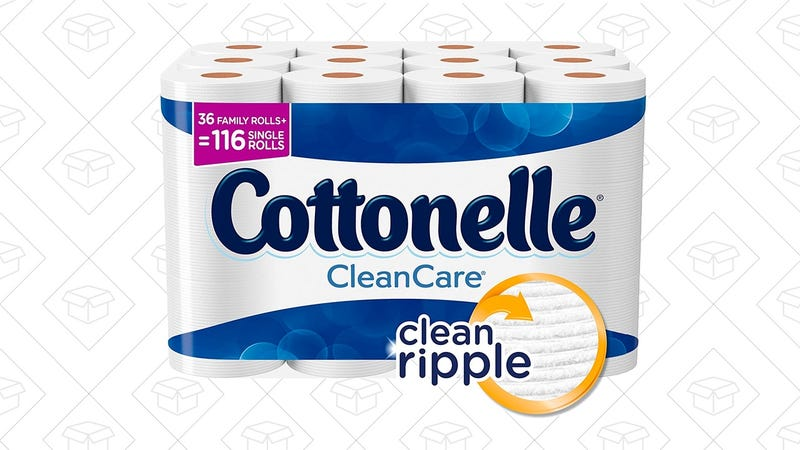 Cottonelle CleanCare Family Roll Toilet Paper (Pack of 36 Rolls) | $18 | Amazon | After 20% off coupon