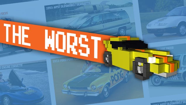 The Six Least Popular Video Game-Themed Cars From Past Comic-Cons