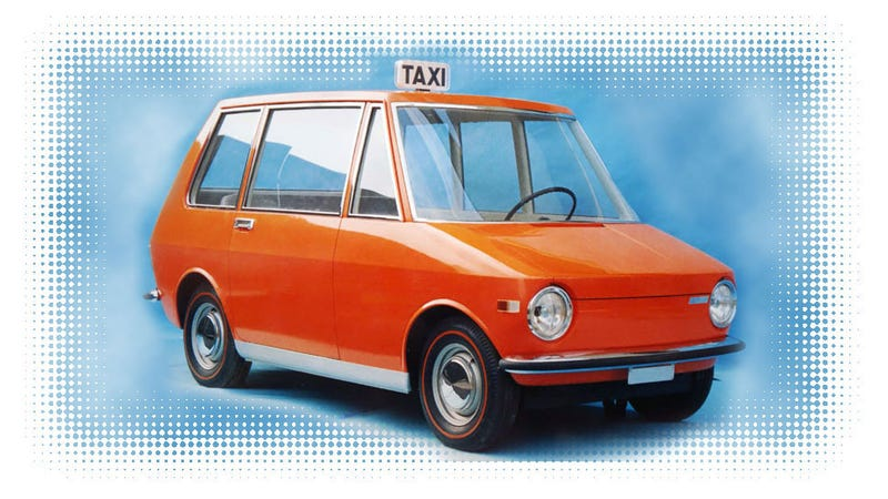 Illustration for article titled This Fiat Taxi Prototype Is The Daily Driver Of My Dreams