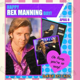 Illustration for article titled Happy Rex Manning Day, GT!
