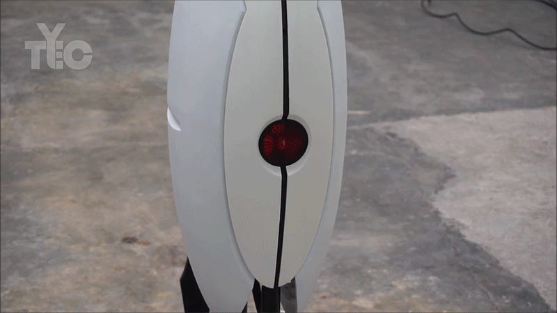 This Life-Size Dart-Blasting Turret From Portal Will Protect Your Cake