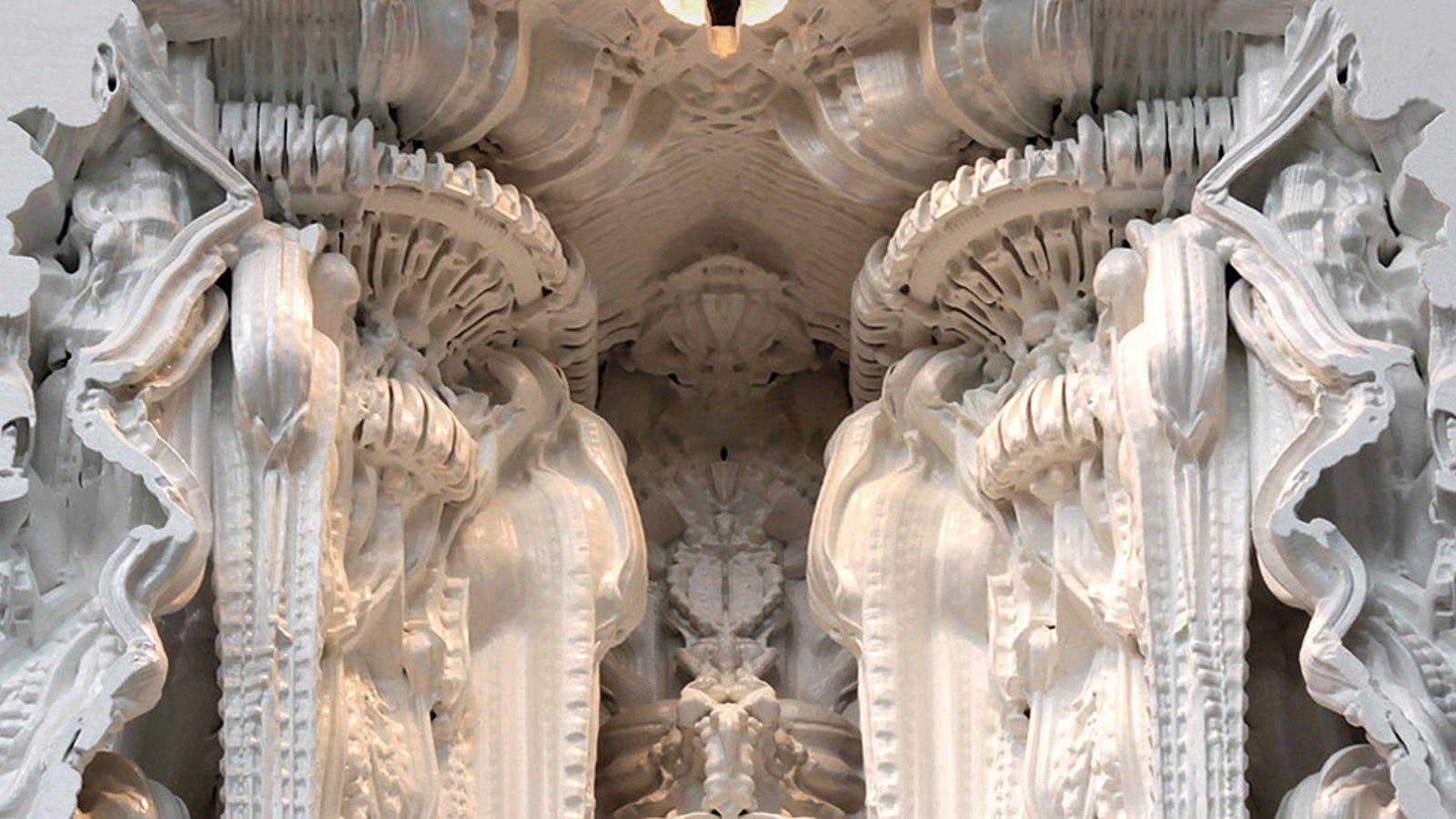 Las catedrales del futuro se imprimirán en piedra