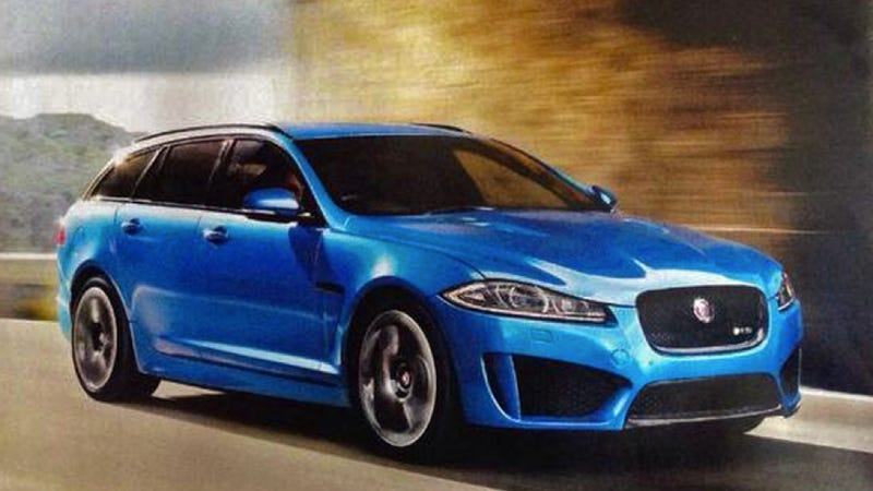 the jaguar xfr-s sportbrake is the big cat you really want