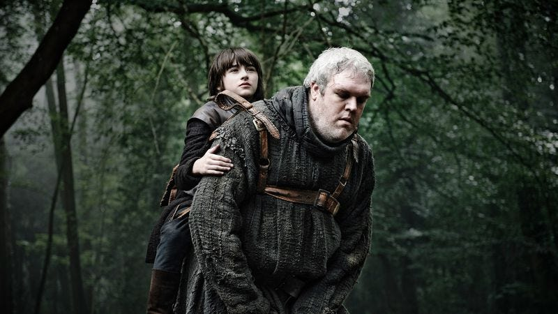 Illustration for article titled Game Of Thrones producer explains what's up with Bran and Hodor next season