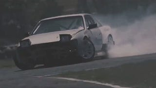 What If Drift Cars Worked Like In Back To The Future?