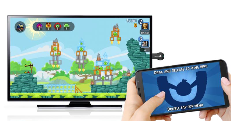 Illustration for article titled Angry Birds, Monopoly y otros juegos casuales llegan a Chromecast adaptados para la TV