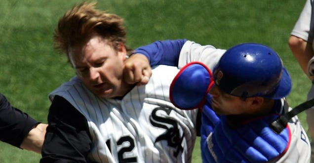 10 Years Ago Today, A.J. Pierzynski Got Punched Right In The Go…