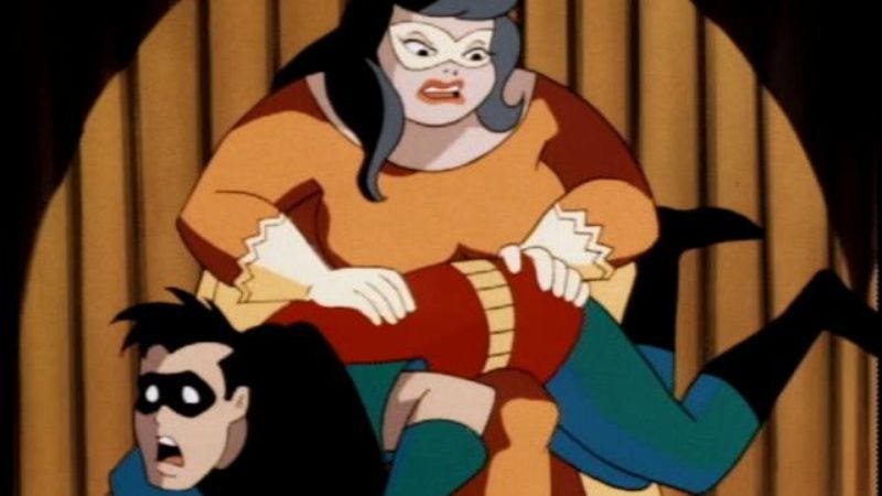 "Illustration for article titled Batman: The Animated Series: ""Make 'Em Laugh"""