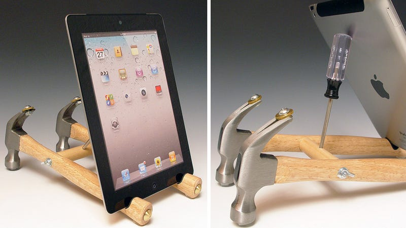 Illustration for article titled Literally Use Your Tools To Build an iPad Stand