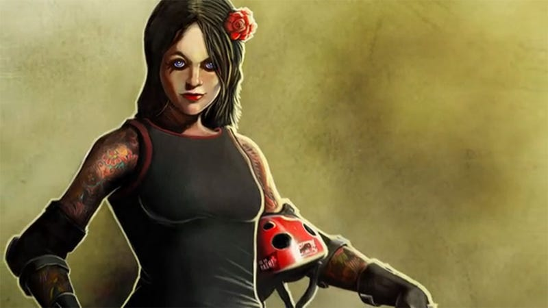 Illustration for article titled No, EA Sports Is Not Making This All-Girl Roller Derby Sports Video Game