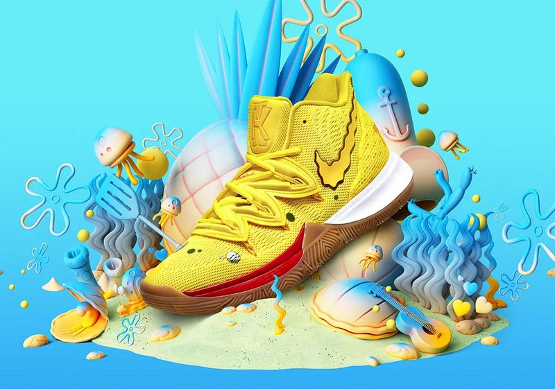 Illustration for article titled Nike Is Making Official Spongebob Squarepants Sneakers [Update]