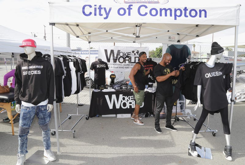 General view during the Healthy Compton 2016 Community Festival at MLK Transit Center Plaza  in Compton, Calif., on Nov. 12, 2016 (Jerritt Clark/Getty Images)