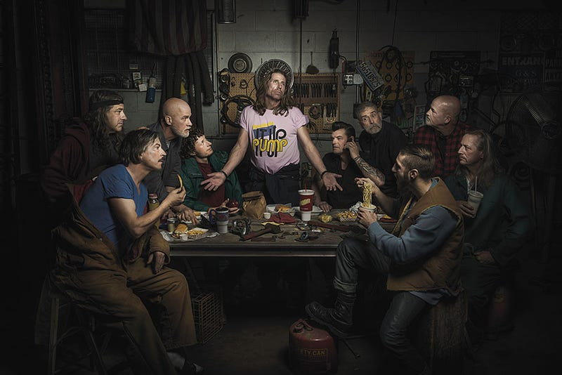 Illustration for article titled Auto Mechanics Hilariously Recreate Renaissance Paintings