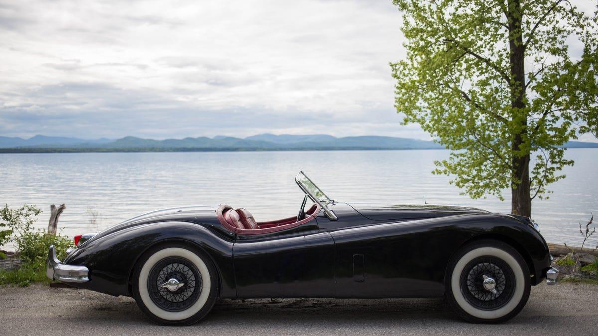 56 jaguar roadster