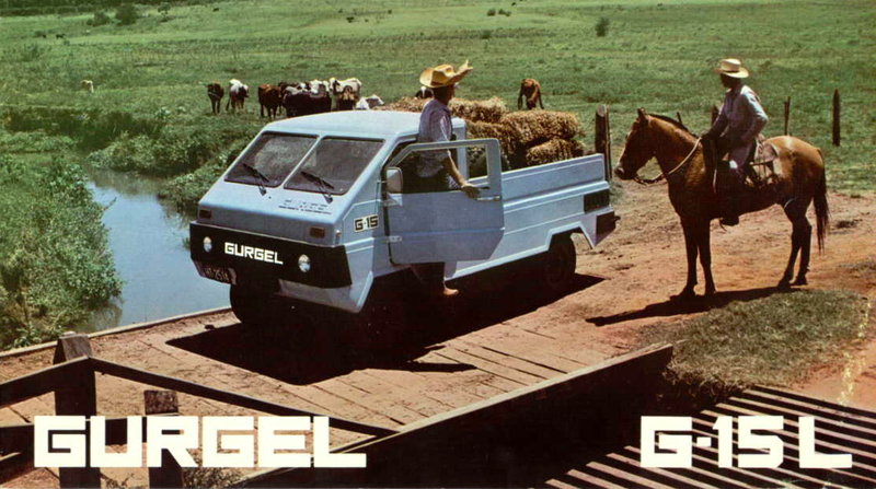 It's the middle of the week, and that demands something special. Like this amazing Gurgel G-15L, the