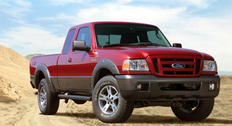 The Old Ford Ranger Actually Had Some Awesome Suspension Designs