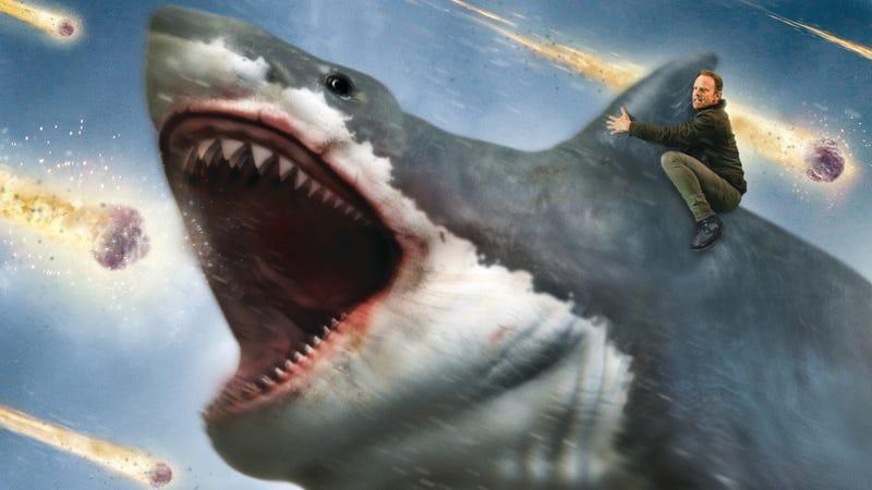 I'm a shark!!! I'm a SHAAAARK! Suck my diiiiiick!! I'M A SHAAARK!!