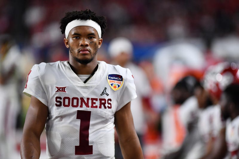 the best attitude 0fcbc 71b26 Tell Me Again Why Kyler Murray Would Ever Want To Play Baseball?