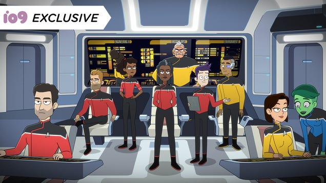 In This Exclusive Lower Decks Clip, a Simulation Teeters on the Brink of Mariner-Spawned Chaos