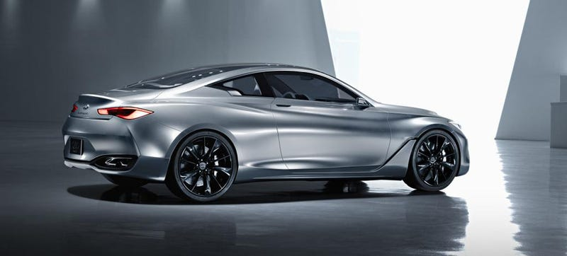 Illustration for article titled The Infiniti Q60 Concept: It's Not For Douchebags Anymore