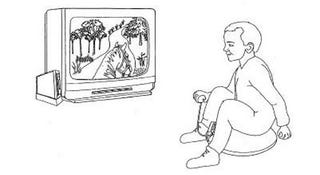 Illustration for article titled Nintendo Patents Inflatable Horse Controller (Yes, That You Ride)