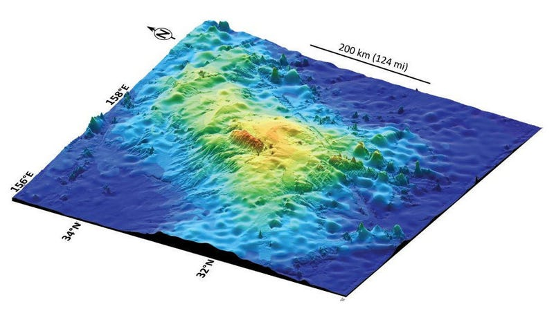 Illustration for article titled One of the solar system's largest volcanoes is right here on Earth