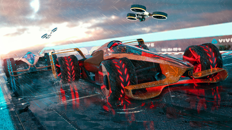 Illustration for article titled McLaren's Concept of F1 in 2050 IsLike a Futuristic Video Game You Never Expected Become Reality
