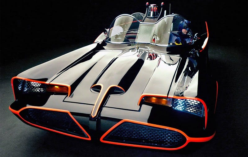 Illustration for article titled Awesome Official 1966 Batmobile Replicas Now for Sale