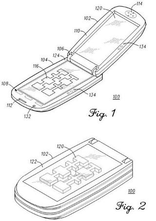 Illustration for article titled Motorola Reimagines the Clamshell in 3D!!!!!