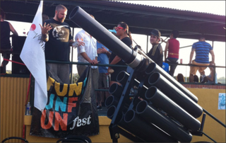 Illustration for article titled Austin Unveils Weaponized Taco Cannon, Declares War On Philadelphia