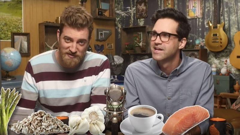 Good Mythical Morning Drinking Pee
