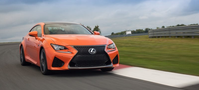 Illustration for article titled Media In Japan Can't Be Bothered To Drive The 2015 Lexus RC F (Updated)