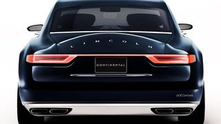 The Lincoln Continental now has a proper rear end
