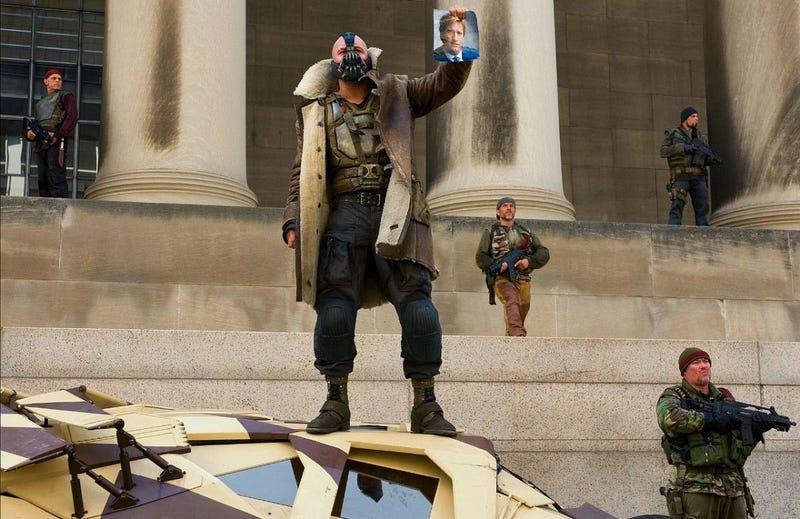 Illustration for article titled The Dark Knight Rises Bane Stills
