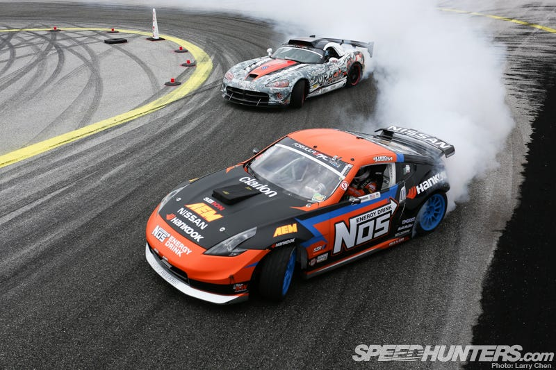 Illustration for article titled Top 5 reasons why you should watching Formula D this weekend