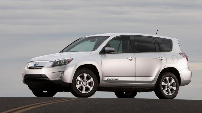 Ilration For Article Led Tesla And Toyota Call It Quits On Rav4 Ev