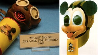 Illustration for article titled Behold, the Mickey Mouse gas mask from World War II