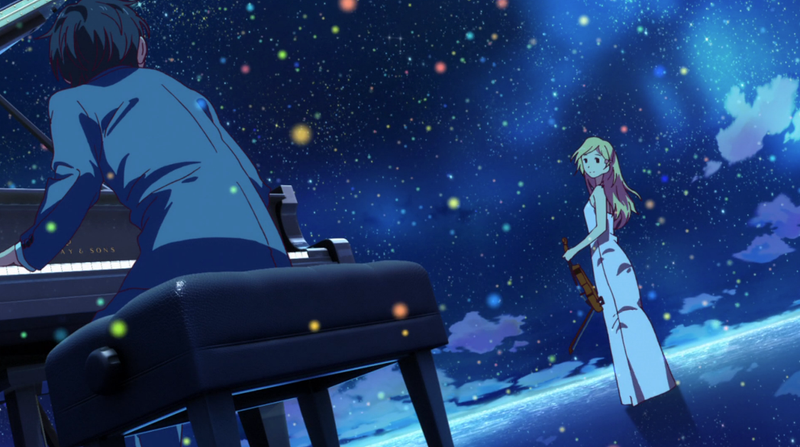 """Illustration for article titled A List of Music Pieces from """"Your Lie in April"""""""