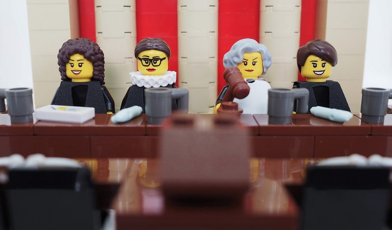 Illustration for article titled Lego Rejected This Flawless Female Supreme Court Justice Set; We Object!