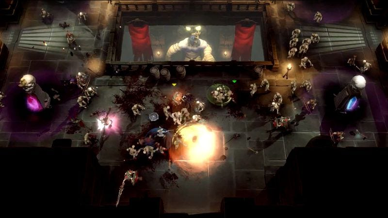 Illustration for article titled Warner Bros. announces Gauntlet remake that looks a lot like Diablo III