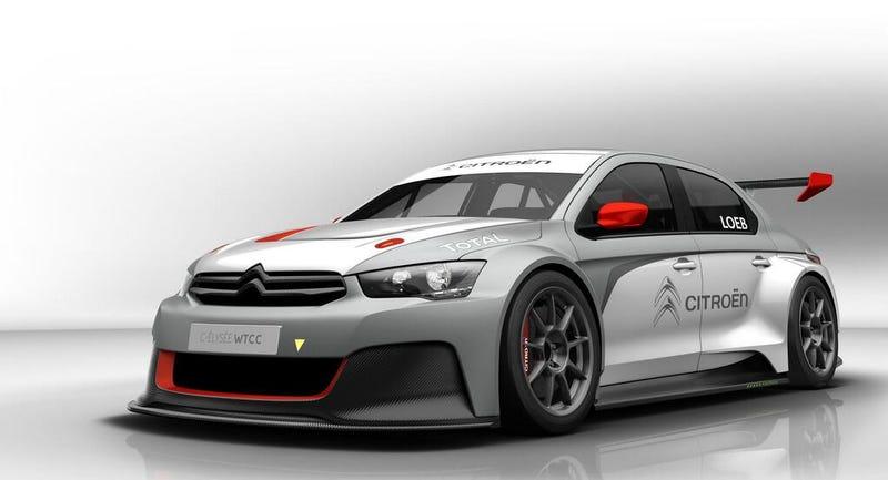 Illustration for article titled Meet Loeb's New Ride : The Citroën C-Elysée WTCC