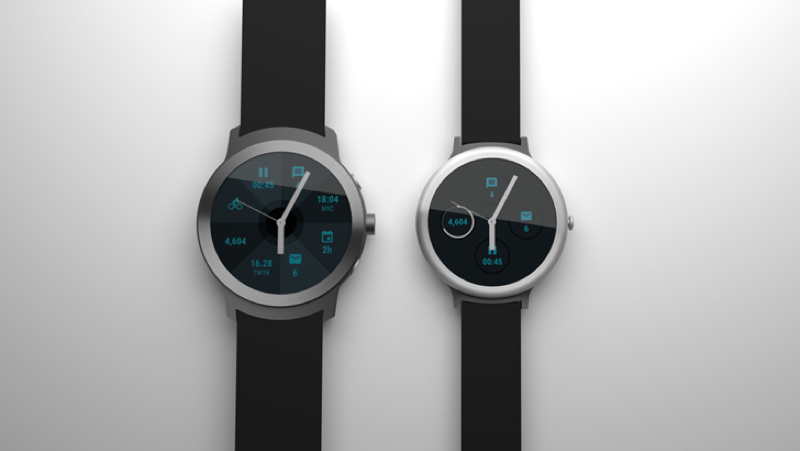 ¿Los relojes de Google? Imagen: Android Police