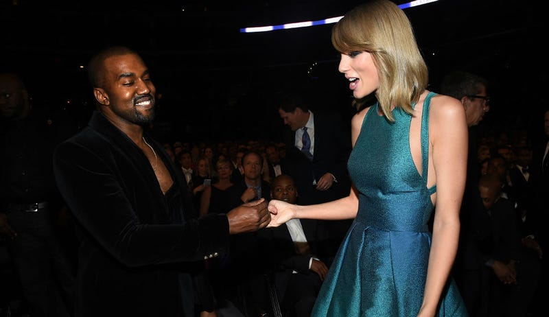 Illustration for article titled Kanye West and Taylor Swift Are Now BFFs, Will Collaborate