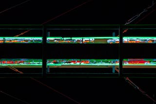 Illustration for article titled Huge Neon Signs Photographed From Below Become Futuristic Abstractions