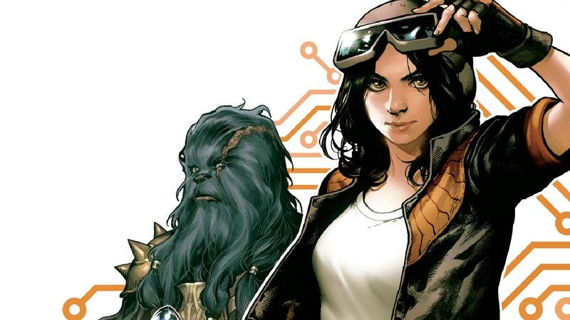 Illustration for article titled Meet the newest female protagonist in the Star Wars comics universe